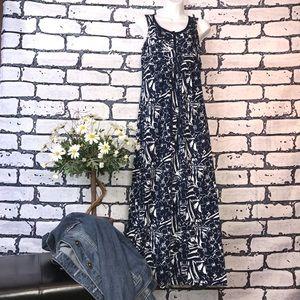 Eddie Bauer 100% Cotton Sleeveless Dress